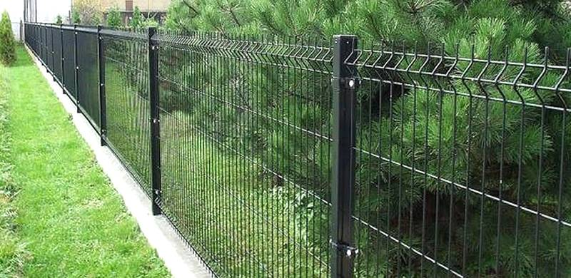 Single Welded Wire Fence Appealing Perimeter Fencing