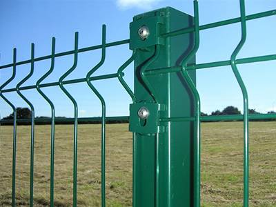 Single Welded Wire Fence - Appealing Perimeter Fencing